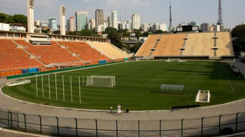 Estadio Pacaembú.