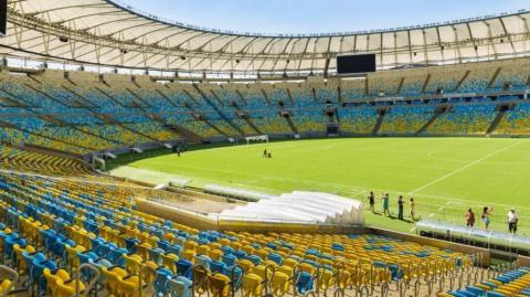 El estadio Maracaná.