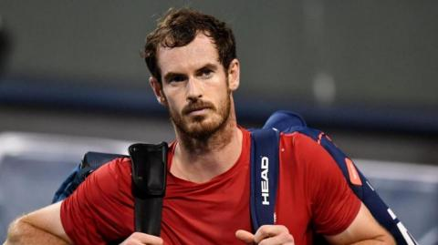 El tenista Andy Murray.