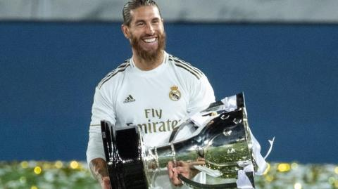 El defensa Sergio Ramos.