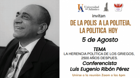 Luis Eugenio Ribón Pérez, conferencista.