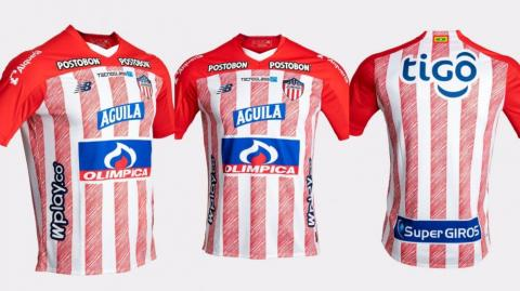 Camiseta oficial de Junior