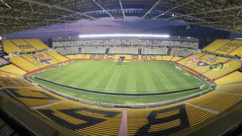 Estadio Monumental de Guayaquil.