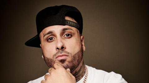 Nicky Jam, reguetonero.