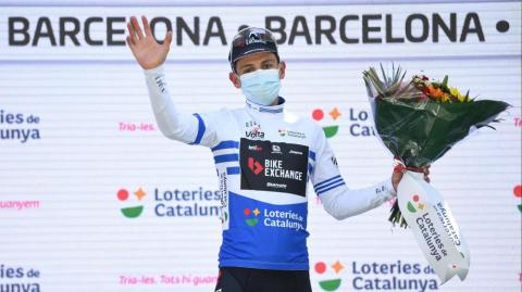 Esteban Chaves, ciclista colombiano.