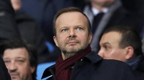 Ed Woodward, vicepresidente del Manchester United.