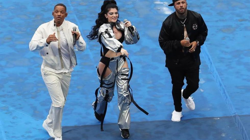 Will Smith, Era Istrefi y Nicky Jam.